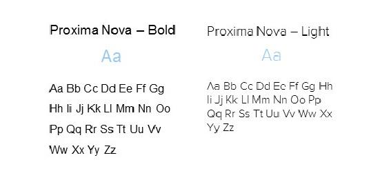 Proxima Nova Family Font
